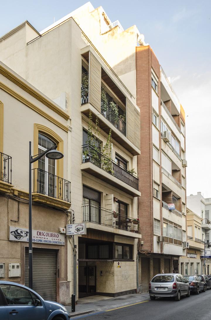7 Viviendas en González Garbín vista general
