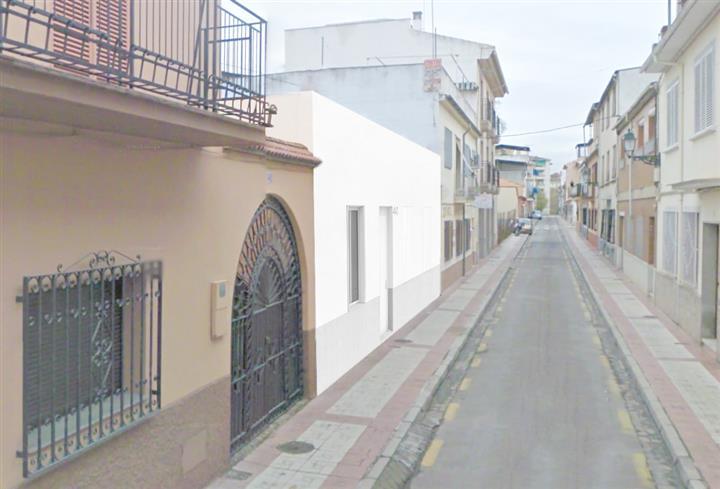Vista de la fachada de la vivienda