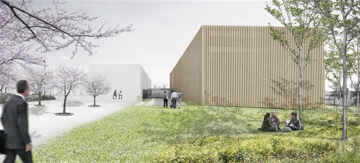 Vista exterior Proyecto de Instituto de Medicina Legal de Granada